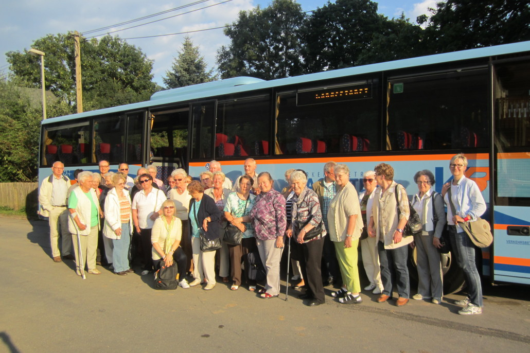 Ausflug des Freundeskreises zur Luisenburg