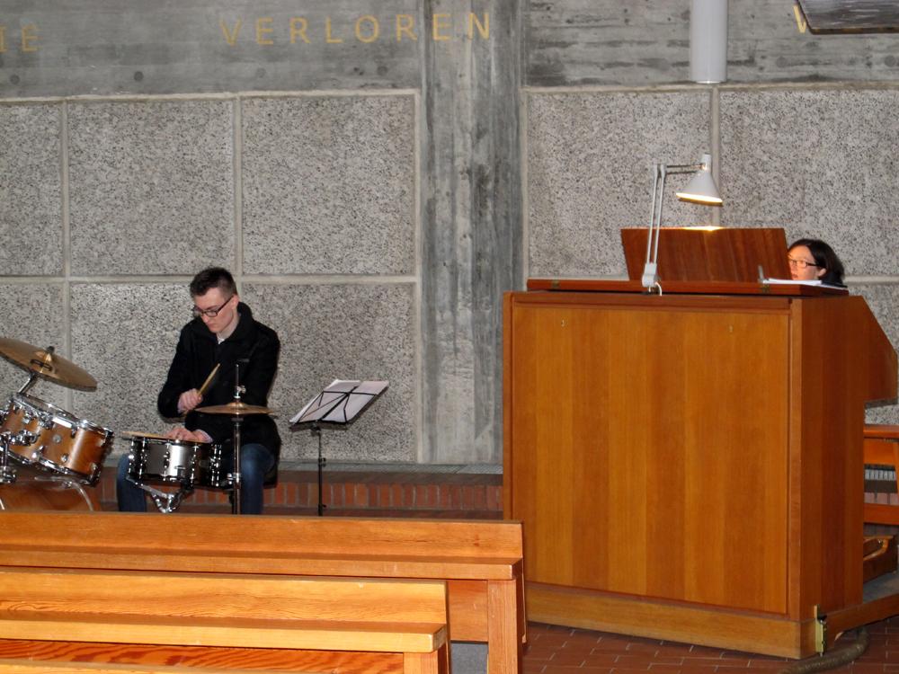 Schlagzeug Björn Huß