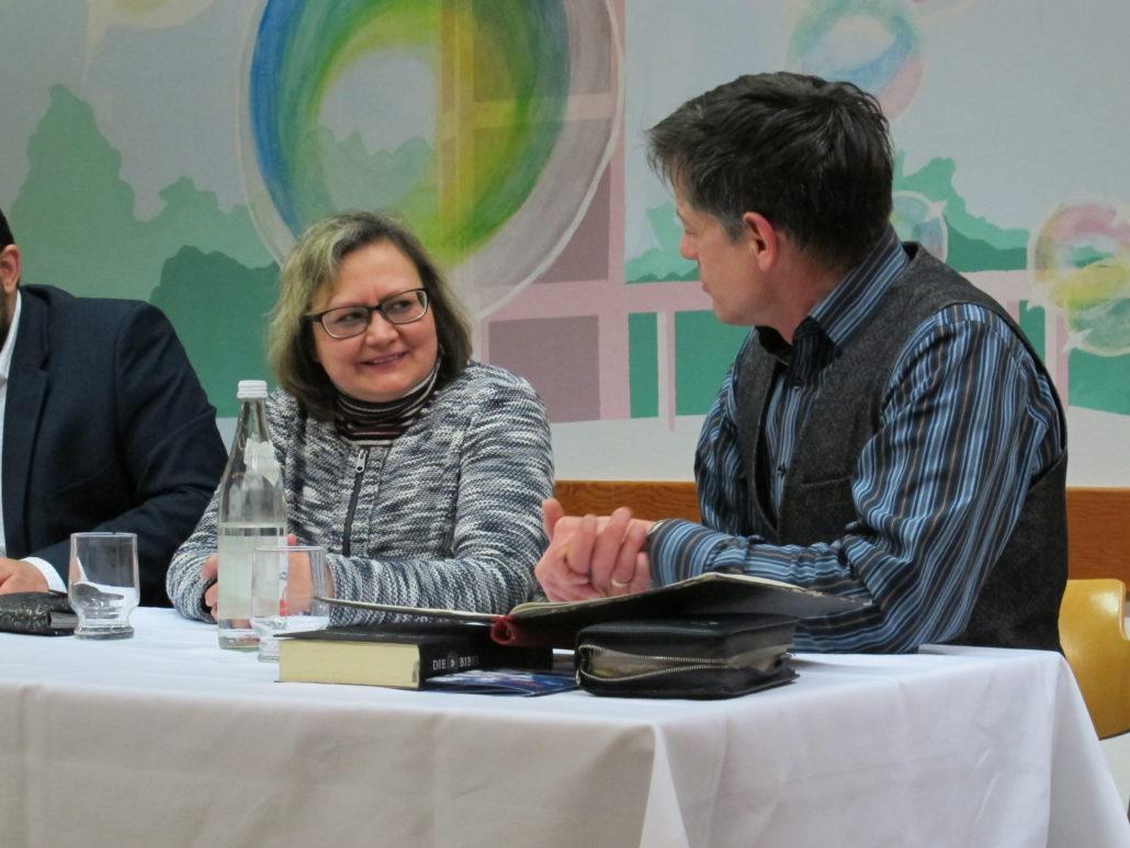 Glaubensgespräch: Hülya Wunderlich und Pfr. Dr. Westerhoff