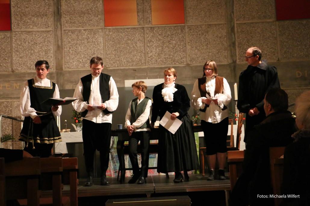 Die Anspielgruppe der Kreuzkirche Hof